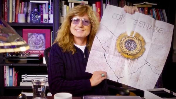 Vídeo: David Coverdale mostra edição deluxe do álbum de 1987