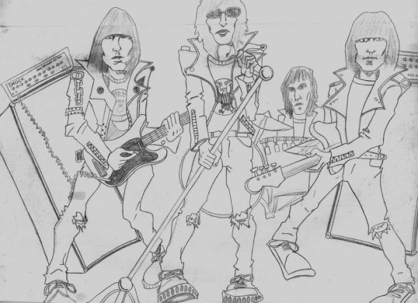 Ramones Fan Art