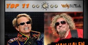 Top 11: Van Halen