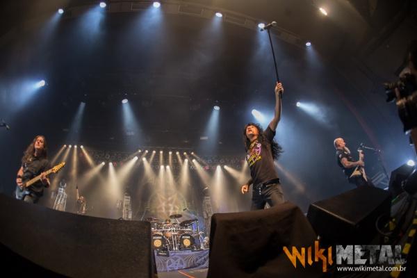 Anthrax e Accept dão aula de Heavy Metal em São Paulo