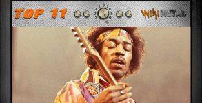 As melhores músicas de Jimi Hendrix