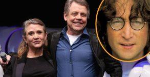 Star Wars: Mark Hamil compara perda de Carrie Fisher com a de John Lennon