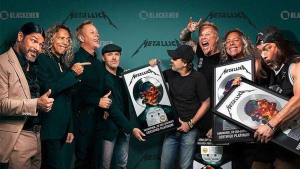 Metallica lidera parada da Billboard de álbuns mais vendidos de 2017