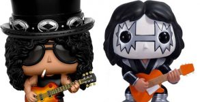 Gibson abre processo contra Funko pelos bonecos do Slash, Kiss e Metallica