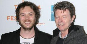 David Bowie e seu filho Duncan Jones