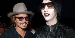 Marilyn Manson e Johnny Depp