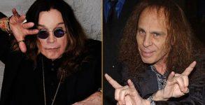 Ozzy Osbourne e Ronnie James Dio