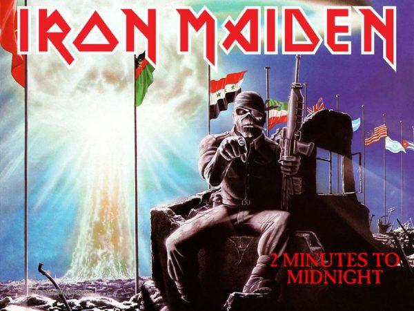 """Relógio para o fim do mundo marca """"2 Minutes To Midnight"""" como Iron Maiden previu em 1984"""