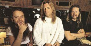Lars Ulrich, Bob Rock e James Hetfield