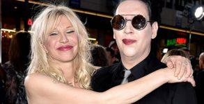 Marilyn Manson e Courtney Love