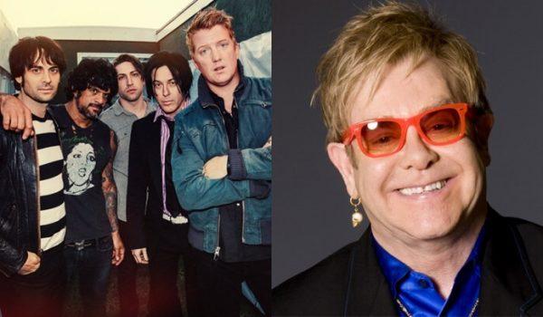 Queens of the Stone Age fará cover de Elton John em nova compilação
