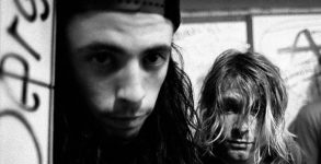 Kurt Cobain e Dave Grohl Nirvana