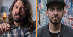Mike Shinoda e Dave Grohl