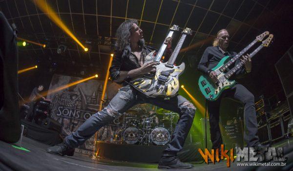 Sons of Apollo com Portnoy, Sheehan, Sherinian, Jeff Scott Soto e Bumblefoot em São Paulo