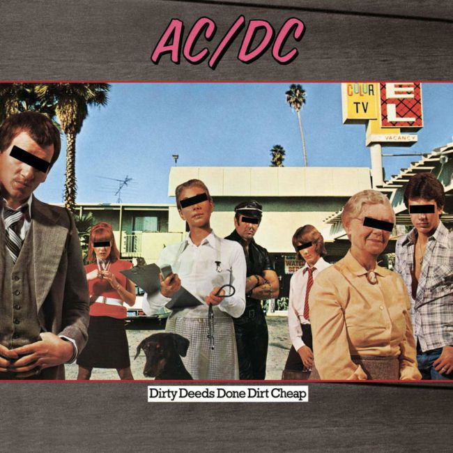 ac/dc Dirty Deeds Done Dirt Cheap (1976)