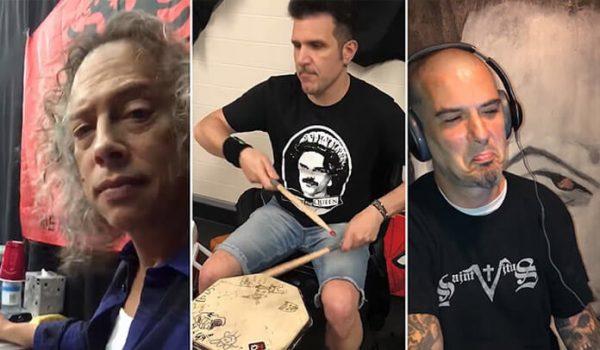 Vídeo: Metallica, Pantera, Anthrax e mais participam de novo vídeo do Ghost