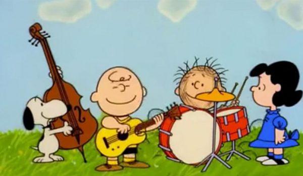 Álbum clássico do Rush sendo tocado pelo elenco de Peanuts