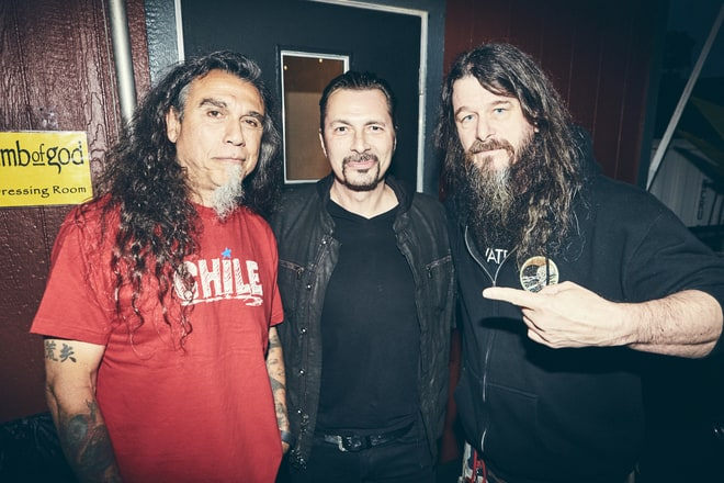 Slayer e Testament