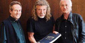 Led Zeppelin se reúne para lançar livro ilustrado em comemoração aos 50 anos de banda