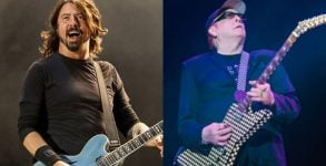 "Foo Fighters toca ""Ain't That A Shame"" com Rick Nielsen do Cheap Trick"