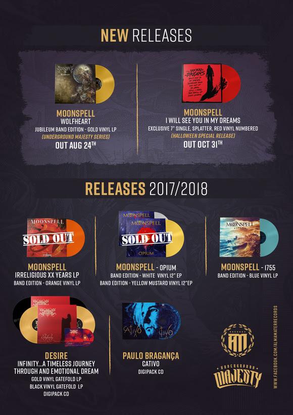 Alma Mater Records - Moonspell