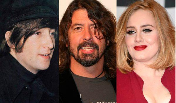 """Dave Grohl revela que """"gostaria de cantar como Adele ou John Lennon"""""""