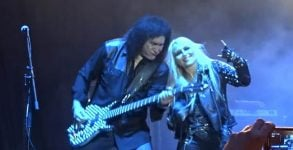 Doro Pesch e Gene Simmons do Kiss