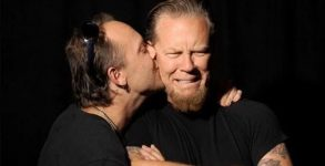 Metallica - Lars Ulrich e James Hetfield