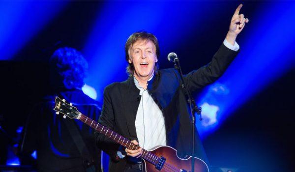 Paul McCartney fará dois shows no Brasil em março de 2019