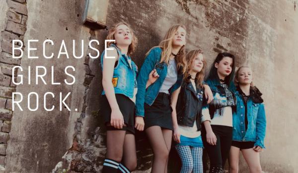 Banda de meninas de 11 a 14 anos toca Metallica