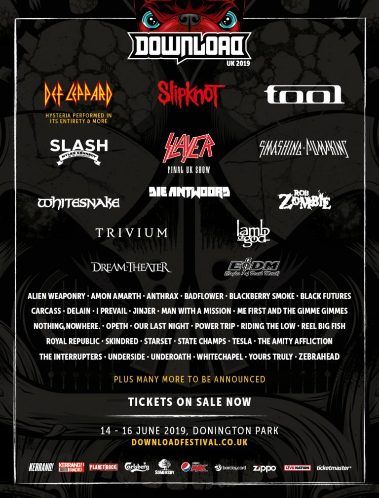 Poster do Download Festival 2019