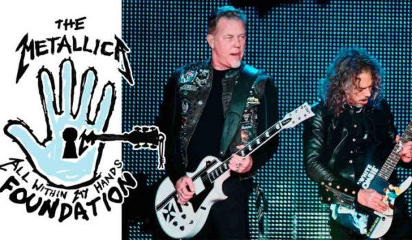 Metallica doa 1 milhão de dólares para escolas técnicas do serviço público americano