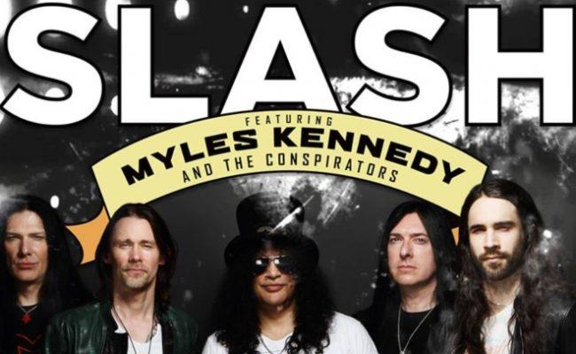 Slash ft. Myles Kennedy & The Conspirators volta ao Brasil em 2019