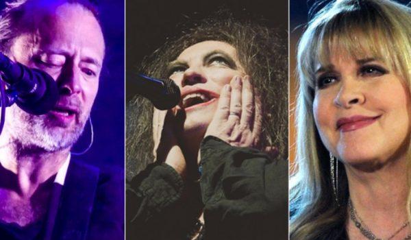 Radiohead, The Cure e Stevie Nicks são nomeados ao Rock Hall of Fame