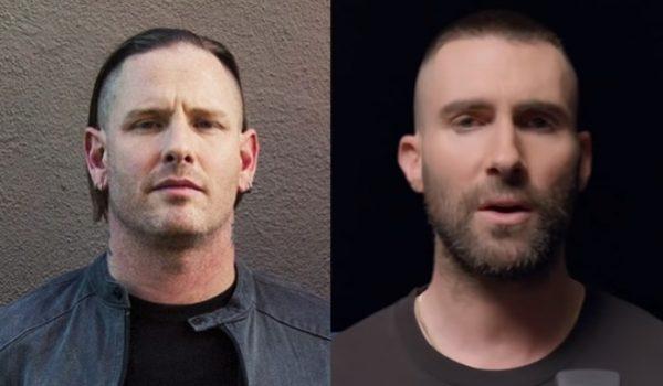 "Corey Taylor chama Adam Levine, do Maroon 5, de ""idiota"""