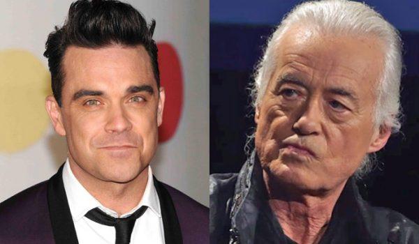 Robbie Williams tem escutado Black Sabbath no último volume para irritar seu vizinho Jimmy Page