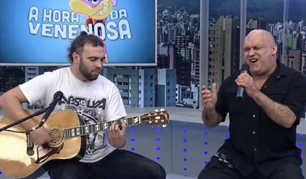 "Blaze Bayley toca ""Futureal"", do Iron Maiden, na TV brasileira"