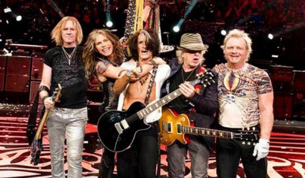 Aerosmith receberá uma estrela na Hollywood Walk Of Fame