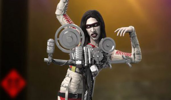 "Marilyn Manson ganha boneco inspirado no clipe ""The Beautiful People"""