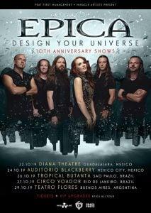 Epica - Design Your Universe tour