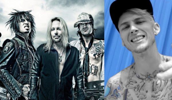 Mötley Crüe lançará música com o rapper Machine Gun Kelly