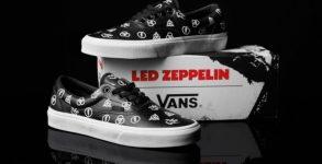 Vans lançará coleção exclusiva do Led Zeppelin
