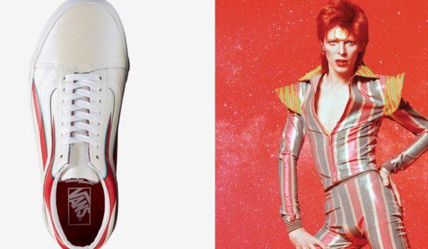 Vans lança coleção de tênis em tributo a David Bowie
