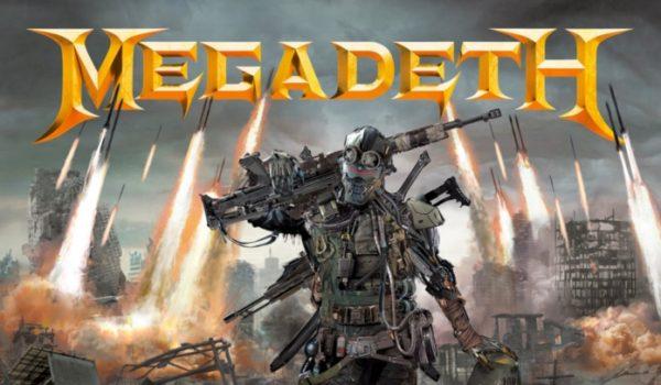 Megadeth anuncia história em quadrinhos Death By Design