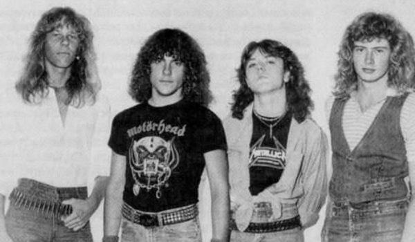 Lars Ulrich relembra primeiro show do Metallica com foto