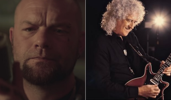 "Five Finger Death Punch e Brian May se unem em nova versão de ""Blue on Black"""