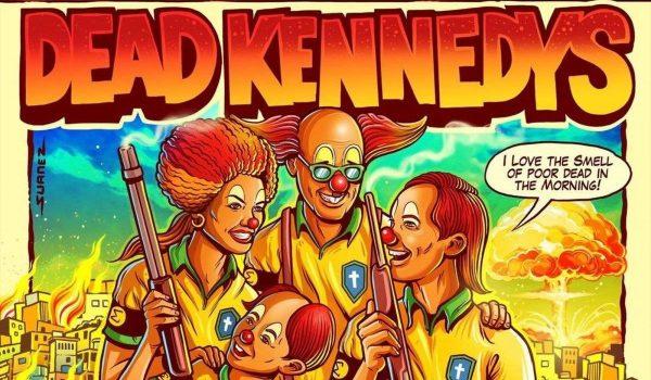 Dead Kennedys: turnê brasileira ganha pôster polêmico e banda desautoriza uso