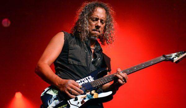 """Metallica: Kirk Hammett tem """"uma tonelada de material"""" para novo álbum"""