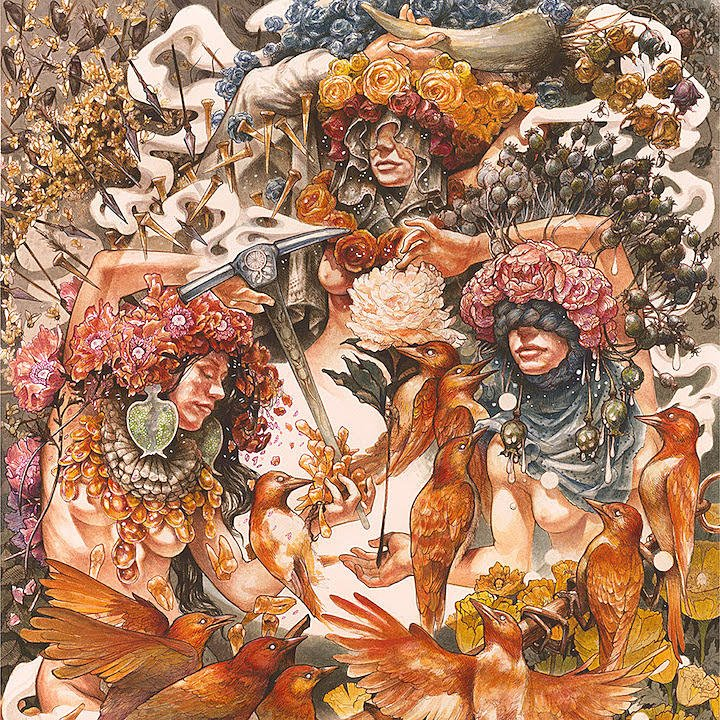 Baroness - Gold and Grey