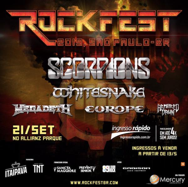 Lineup Rockfest